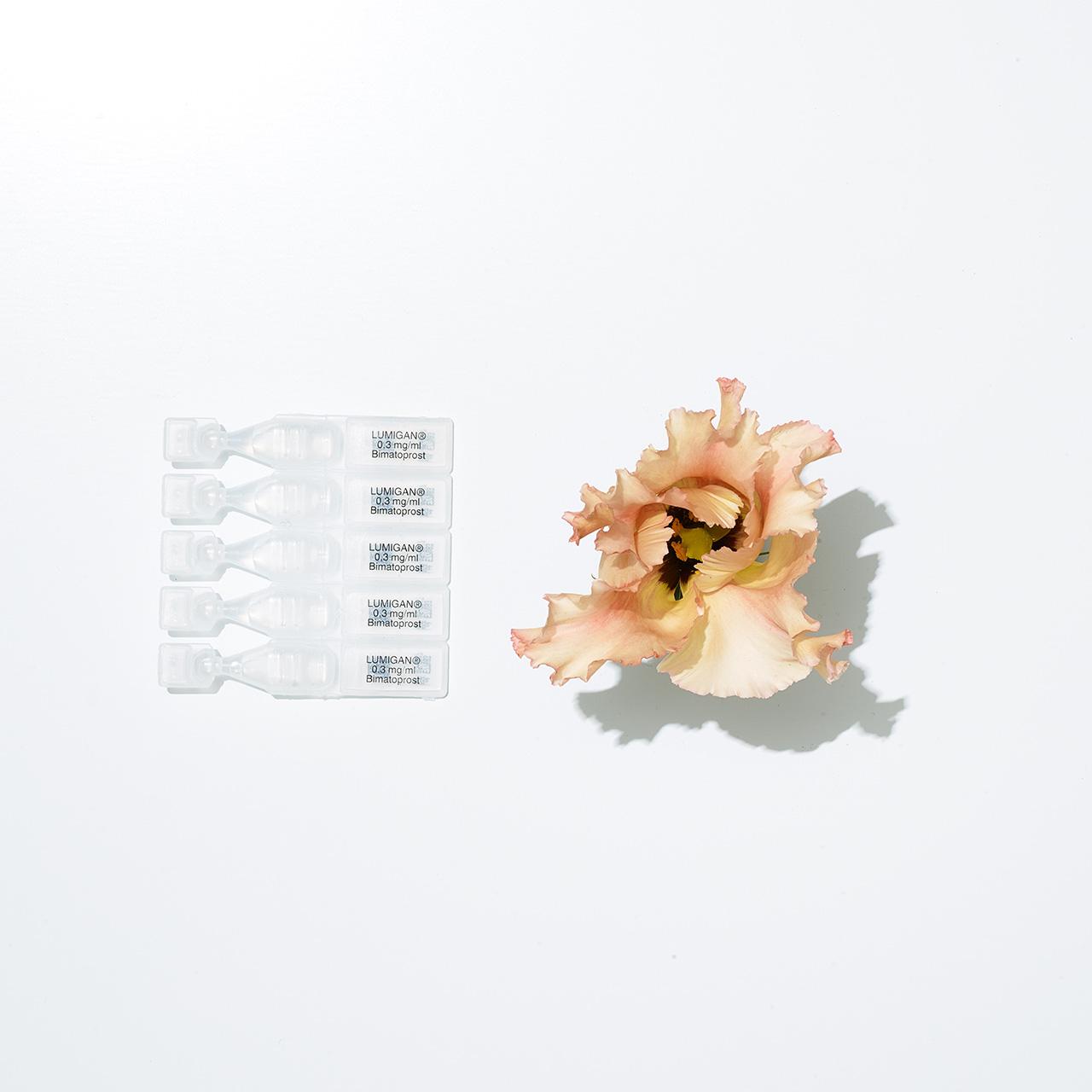 Plate 2 Prescription (Eyedrops for Glacoma, Flower)